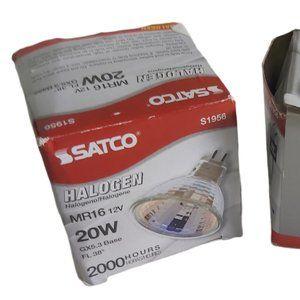 *3/$20* Satco S1956 20 Watt MR16 Halogen